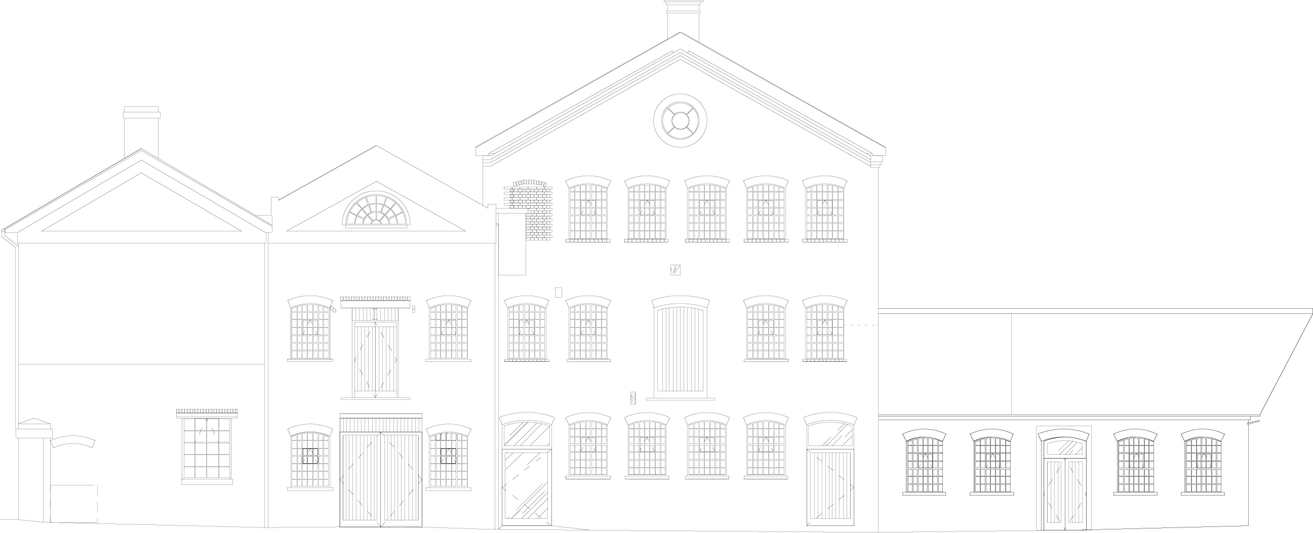 Junction Works, front elevation, BPN Architects
